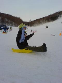 従兄弟スノーボード☆